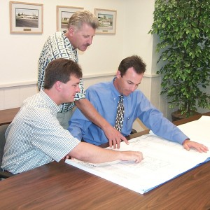 Can Am Plumbing executives pay close attention to blueprints